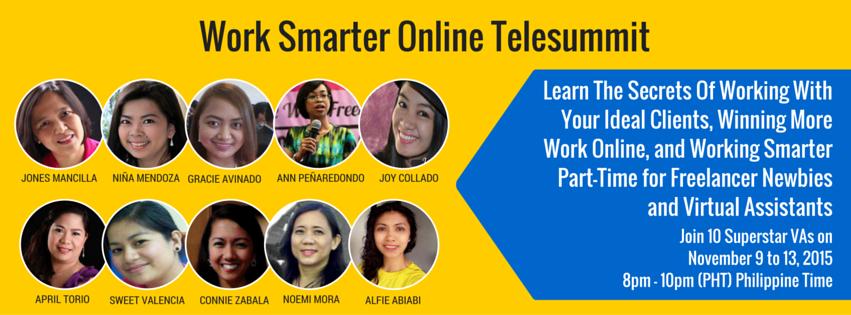 Work Smarter Online Telesummit
